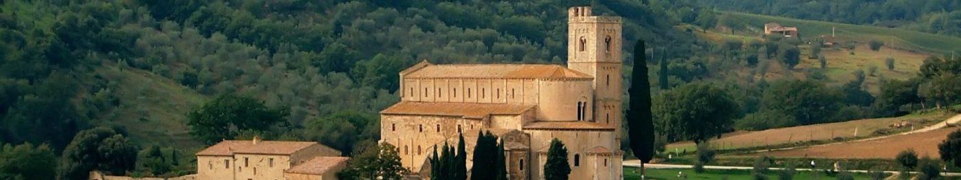 Abbaye de Sant'Antimo, Montalcino SI, Toscane, Italie