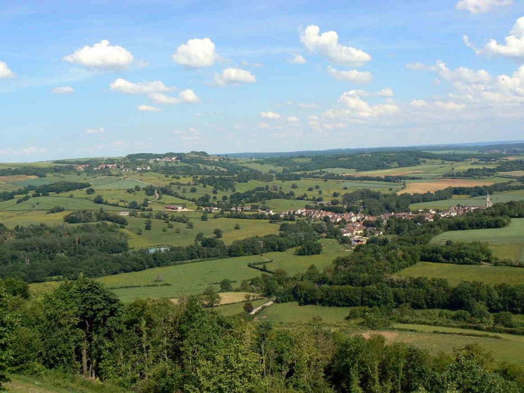 Paysage du Morvan, Bourgogne